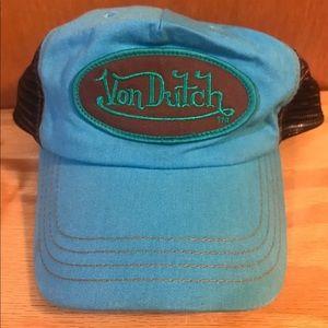 Von Dutch Unisex Snapback Trucker Hat